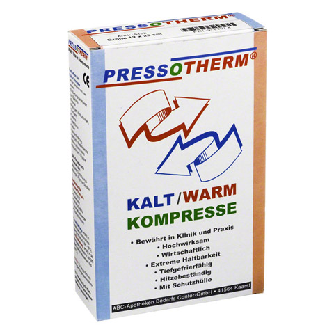 PRESSOTHERM Kalt-Warm-Kompr.12x29 cm 1 Stück