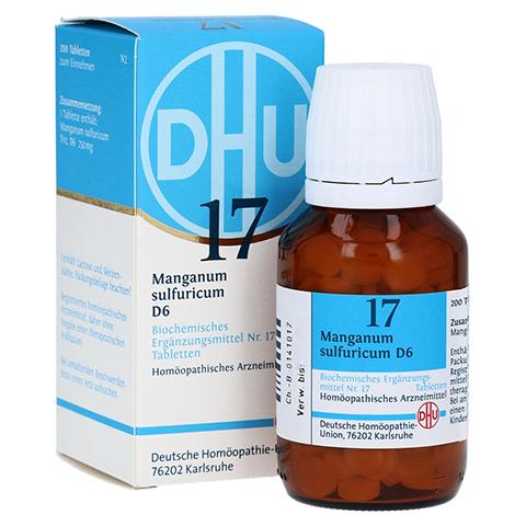 BIOCHEMIE DHU 17 Manganum sulfuricum D 6 Tabletten 200 Stück N2