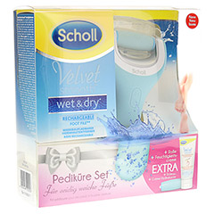 SCHOLL Velvet smooth Pedi wet & dry Vorteilspack 1 Packung