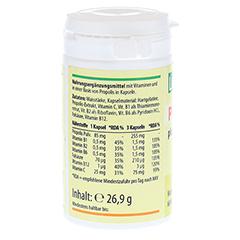 PROPOLIS 255 mg pro Tag plus Vitamine Kapseln 60 Stück - Rechte Seite