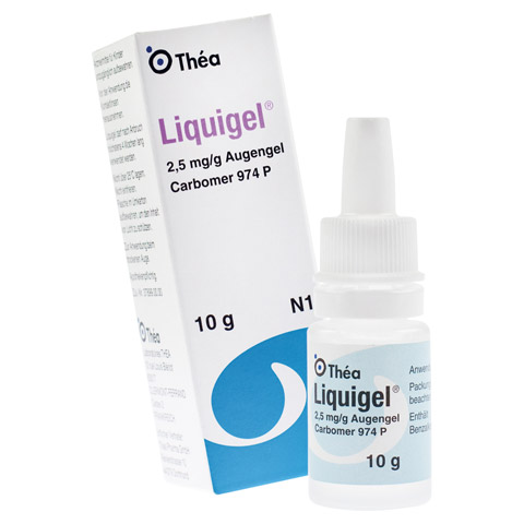 LIQUIGEL Augengel 3x10 Gramm N3