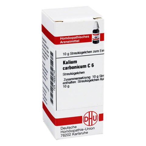 KALIUM CARBONICUM C 6 Globuli 10 Gramm N1