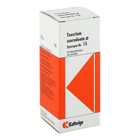 SYNERGON KOMPLEX 15 Teucrium Urtinktur 50 Milliliter N1