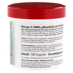 OMEGA 3 100% pflanzlich Gerimed Kapseln 180 Stück - Rechte Seite