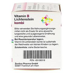 VITAMIN B Lichtenstein Kombi Dragees 50 Stück - Rechte Seite