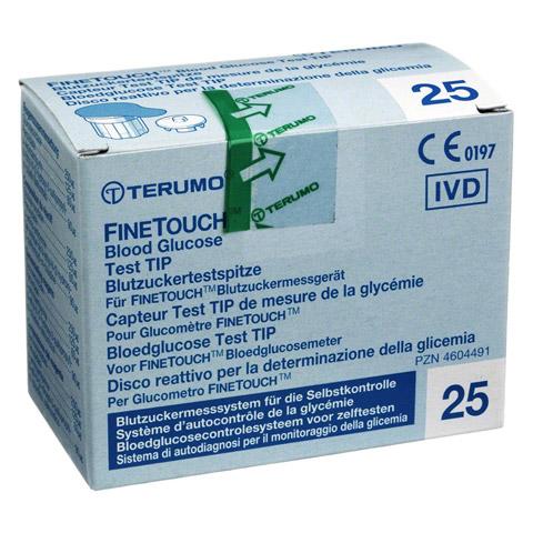 TERUMO FINETOUCH Blutzuckertestspitzen 25 Stück