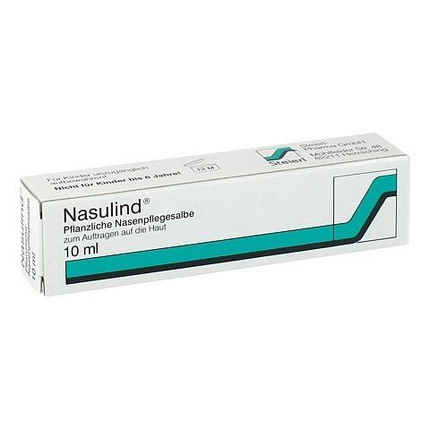 NASULIND Pflanzliche Nasenpflegesalbe 10 Milliliter