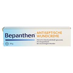 Bepanthen Antiseptische Wundcreme 20 Gramm N1 - Vorderseite