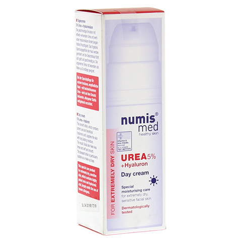 NUMIS med Urea 5% Tagescreme+Hyaluron 50 Milliliter