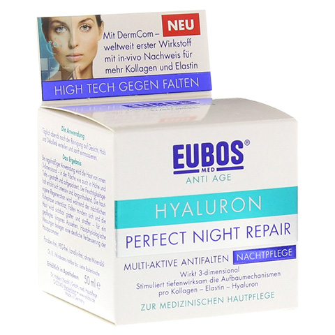 EUBOS HYALURON Perfect Night Repair Creme 50 Milliliter