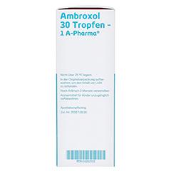 Ambroxol 30 Tropfen-1A Pharma 100 Milliliter N3 - Rechte Seite