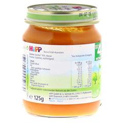 HIPP Bio Gemüse Frühkarotten 125 Gramm - Linke Seite