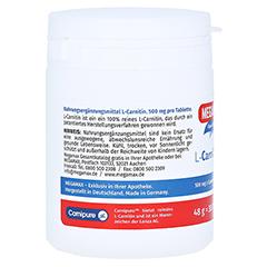 MEGAMAX L Carnitin 500 mg Tabletten 30 Stück - Rechte Seite