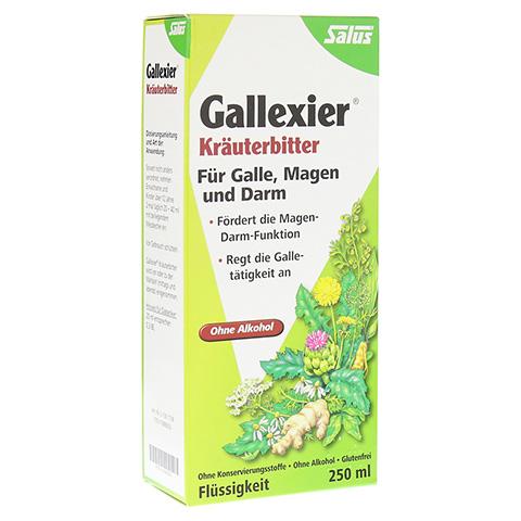 Gallexier Kräuterbitter Salus 250 Milliliter