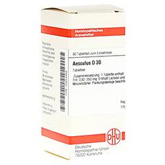 AESCULUS D 30 Tabletten 80 Stück