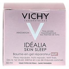 VICHY IDEALIA Skin Sleep Nachtcreme 50 Milliliter - Rückseite