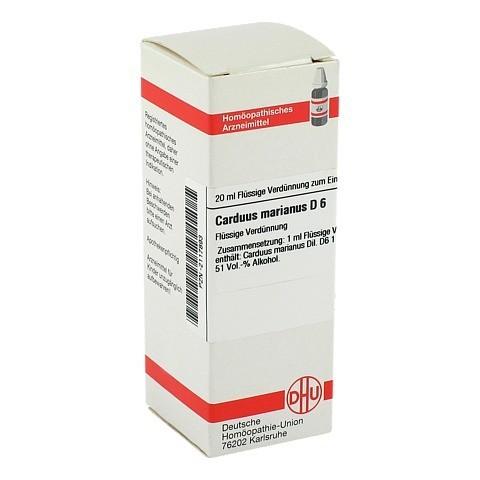 CARDUUS MARIANUS D 6 Dilution 20 Milliliter N1