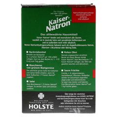 KAISER NATRON Btl. Pulver 250 Gramm - Rückseite