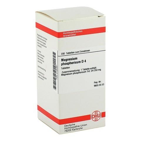 MAGNESIUM PHOSPHORICUM D 4 Tabletten 200 Stück N2