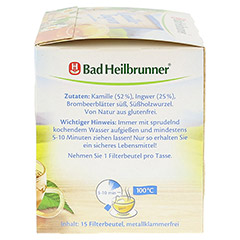 BAD HEILBRUNNER Tee Kamille-Ingwer Filterbeutel 15 Stück - Rechte Seite