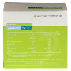 PROBIOTIK recur Pulver 30x1.5 Gramm - R�ckseite
