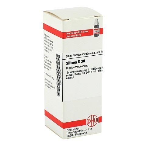 SILICEA D 30 Dilution 20 Milliliter N1