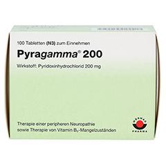 PYRAGAMMA 200 Tabletten 100 Stück N3 - Vorderseite