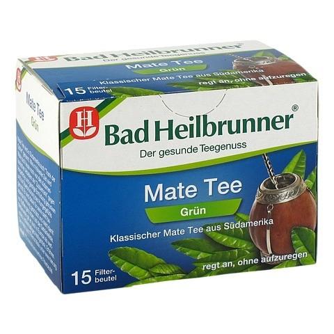 BAD HEILBRUNNER Tee Mate grün Filterbeutel 15 Stück