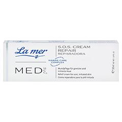 LA MER MED S.O.S. Repair Creme ohne Parfüm 50 Milliliter - Vorderseite