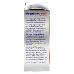 MAGNETRANS aktiv Multi Mineral Trink-Granulat 10 Stück - Linke Seite