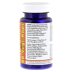 SELEN ZINK Vit.B Komplex Vegi-Kaps 480 mg 60 Stück - Rechte Seite