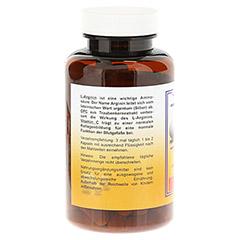L-ARGININ+OPC 600 mg Kapseln 100 Stück - Rückseite