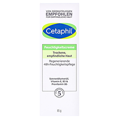 CETAPHIL Feuchtigkeitscreme 85 Milliliter - Vorderseite