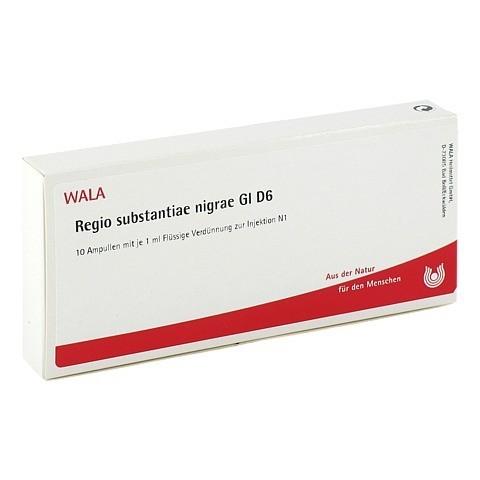 REGIO SUBST. NIGRAE GL D 6 Ampullen 10x1 Milliliter N1