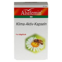 ALSIFEMIN 50 Klima-Aktiv m.Soja 1x1 Kapseln 60 St�ck - Vorderseite