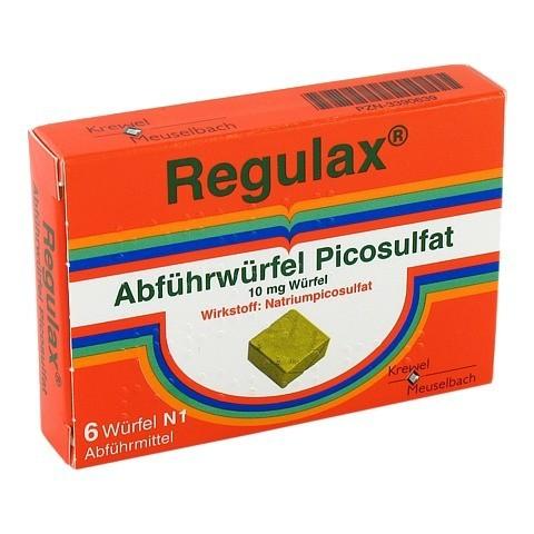Regulax Abf�hrw�rfel Picosulfat 6 St�ck