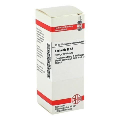 LACHESIS D 12 Dilution 20 Milliliter N1