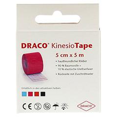 DRACO KINESIOTAPE 5 cmx5 m pink 1 Stück - Rückseite