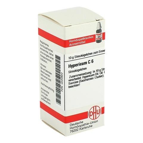 HYPERICUM C 6 Globuli 10 Gramm N1
