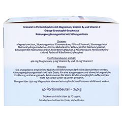 DOPPELHERZ Magnesium 400 Citrat system Granulat 40 Stück - Rechte Seite