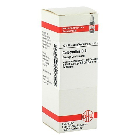 COLOCYNTHIS D 4 Dilution 20 Milliliter N1