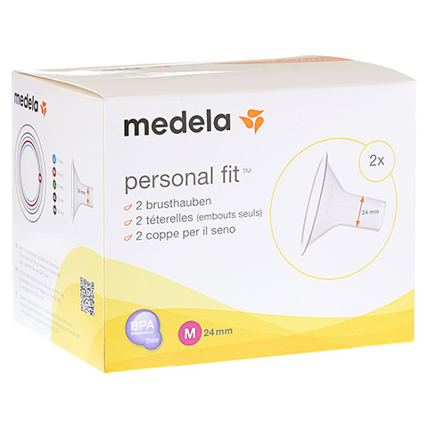 MEDELA Personal Fit Brusthaube Gr.M 2 St 1 Packung