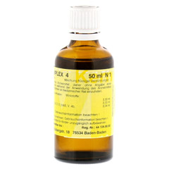 MERIDIANKOMPLEX 4 Tropfen zum Einnehmen 50 Milliliter N1 - R�ckseite