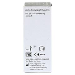 ACCU CHEK Mobile Testkassette 50 Stück - Rechte Seite