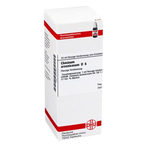 CHININUM ARSENICOSUM D 6 Dilution 50 Milliliter N1