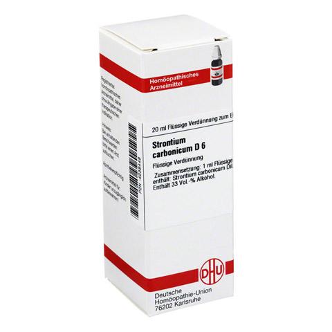 STRONTIUM CARBONICUM D 6 Dilution 20 Milliliter N1