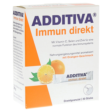 ADDITIVA Immun direkt Sticks 20 St�ck