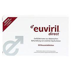 EUVIRIL direct Brausetabletten 2x15 Stück - Vorderseite