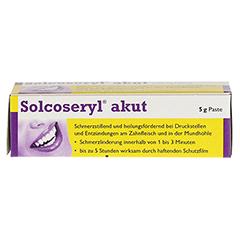 Solcoseryl akut 2,125mg/10mg 5 Gramm - Oberseite