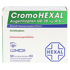 CromoHEXAL Augentropfen UD 50 Stück N3 - Vorderseite
